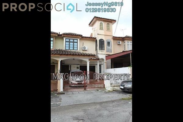 For Sale Terrace at Medan Lapangan Lagenda, Ipoh Leasehold Semi Furnished 4R/3B 298k