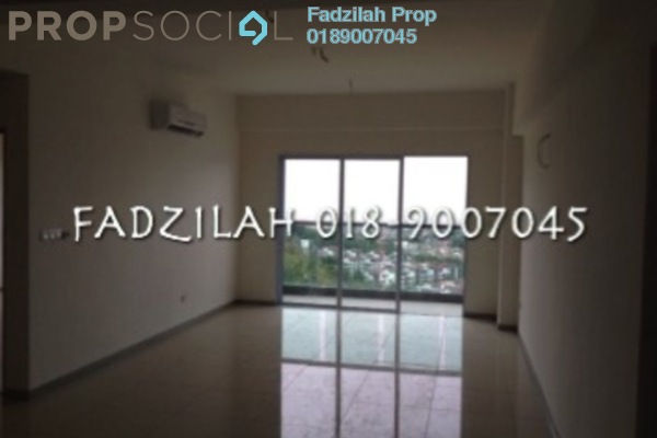 For Rent Condominium at Villa Orkid, Segambut Freehold Semi Furnished 3R/3B 1.9k