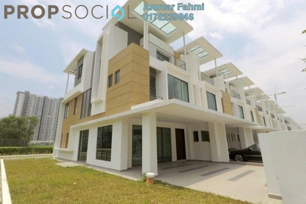 For Sale Terrace at LakeFront Residence, Cyberjaya Freehold Unfurnished 5R/5B 1.4m