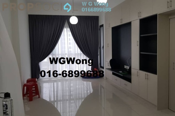 For Rent Serviced Residence at BayBerry Serviced Residence @ Tropicana Gardens, Kota Damansara Freehold Semi Furnished 1R/1B 1.8k
