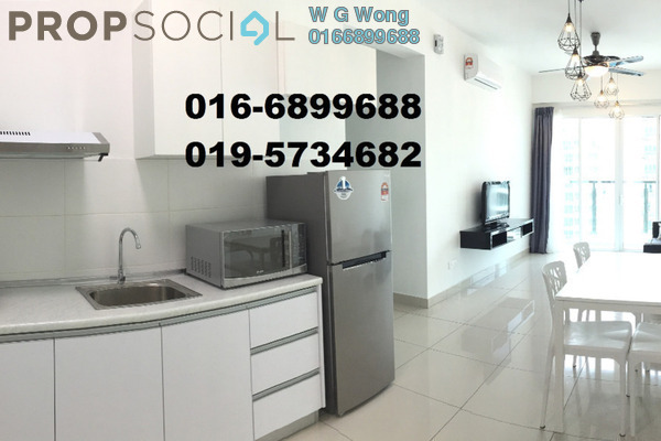 For Rent Condominium at Tropicana Bay Residences, Bayan Indah Freehold Fully Furnished 3R/2B 1.85k