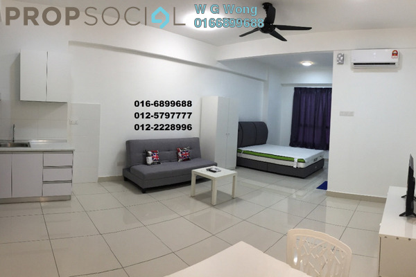 For Sale Condominium at Penang World City, Batu Uban Freehold Fully Furnished 1R/1B 438k