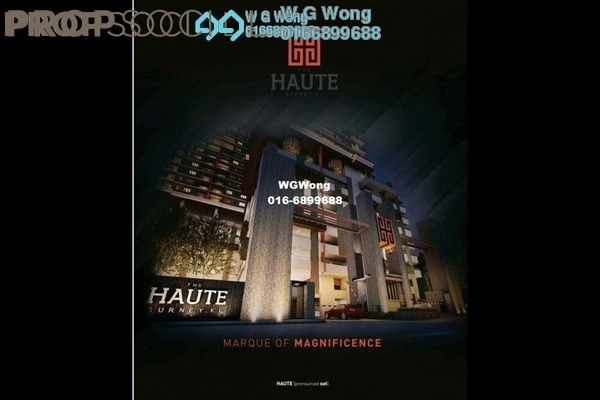 For Sale Condominium at The Haute, Keramat Leasehold Unfurnished 3R/2B 646k