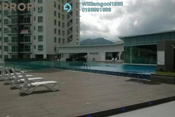For Sale Condominium at Elit Heights, Bayan Baru Freehold Semi Furnished 3R/2B 498k