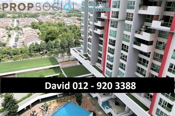 For Sale Condominium at Seringin Residences, Kuchai Lama Freehold Semi Furnished 2R/3B 925k
