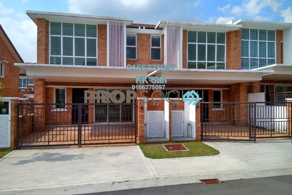 For Rent Link at Goodview, Bandar Sungai Long Freehold Semi Furnished 5R/5B 1.3k