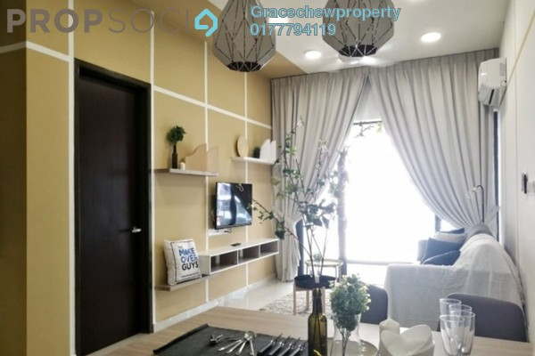 For Rent Condominium at Country Garden Danga Bay, Danga Bay Freehold Fully Furnished 2R/2B 2.38k