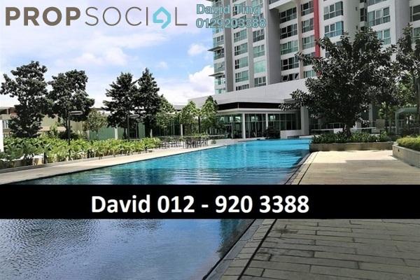 For Sale Condominium at Seringin Residences, Kuchai Lama Freehold Semi Furnished 2R/3B 1.15m