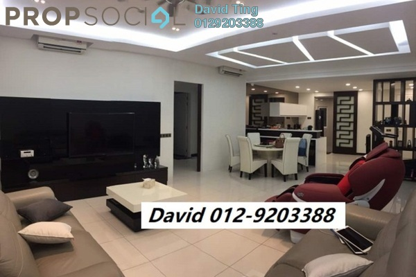 For Sale Condominium at Seringin Residences, Kuchai Lama Freehold Semi Furnished 3R/3B 1.45m