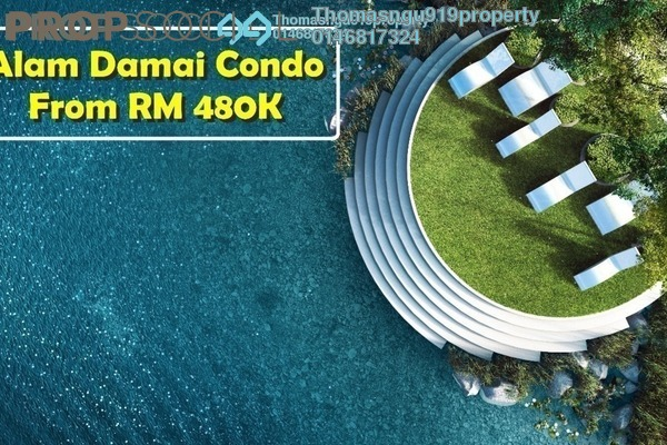 For Sale Condominium at Emerald Hills, Alam Damai Freehold Unfurnished 2R/2B 489k