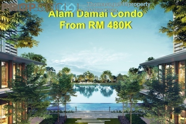 For Sale Condominium at Emerald Hills, Alam Damai Freehold Unfurnished 3R/2B 519k