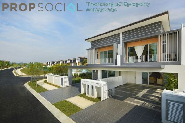 For Sale Superlink at Casa Din'ari @ Cybersouth, Dengkil Leasehold Unfurnished 4R/3B 650k