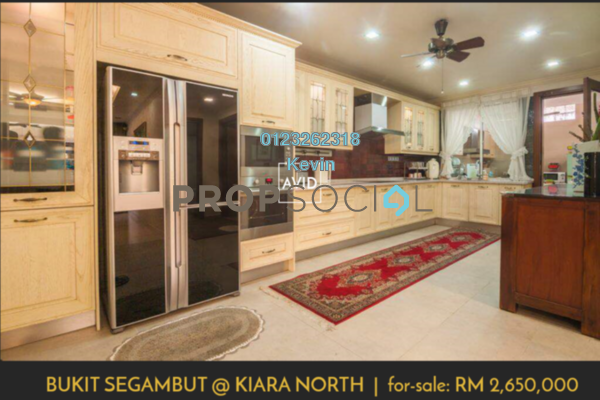 For Sale Semi-Detached at Bukit Segambut, Segambut Freehold Semi Furnished 5R/5B 2.65m