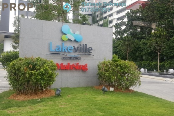 For Sale Condominium at Lakeville Residence, Jalan Ipoh Freehold Semi Furnished 3R/2B 795k