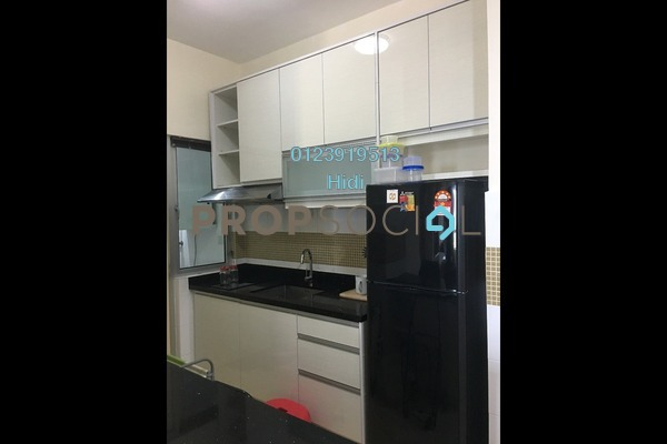For Rent Serviced Residence at Metropolitan Square, Damansara Perdana Freehold Semi Furnished 2R/2B 1.7k