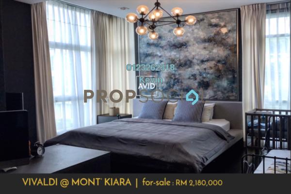 For Sale Condominium at Sunway Vivaldi, Mont Kiara Freehold Semi Furnished 3R/4B 2.18m