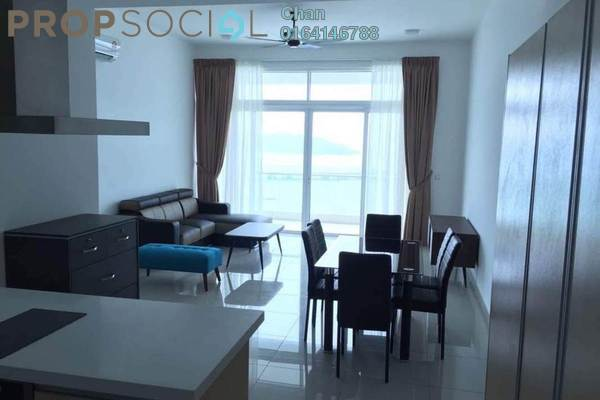 For Sale Condominium at Southbay Plaza @ Southbay City, Batu Maung Freehold Fully Furnished 2R/2B 779k