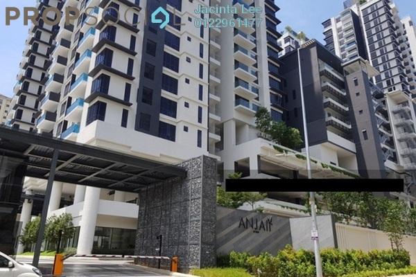 For Sale Condominium at Anjali @ North Kiara, Segambut Freehold Semi Furnished 4R/4B 965k