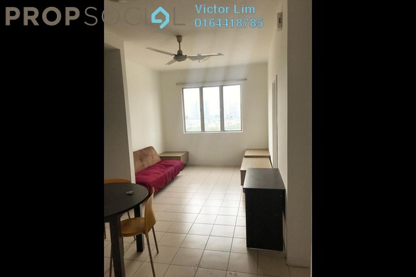For Rent Apartment at Casa Subang, UEP Subang Jaya Freehold Semi Furnished 3R/2B 1.2k