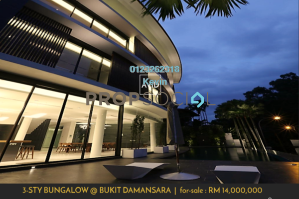 For Sale Bungalow at Bukit Damansara, Damansara Heights Freehold Fully Furnished 6R/6B 14m