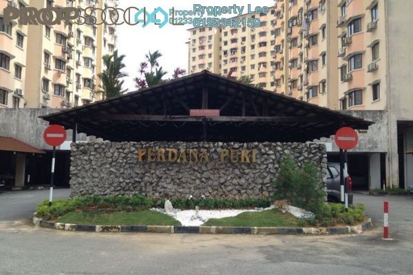 For Rent Condominium at Perdana Puri, Kepong Freehold Semi Furnished 3R/2B 900translationmissing:en.pricing.unit