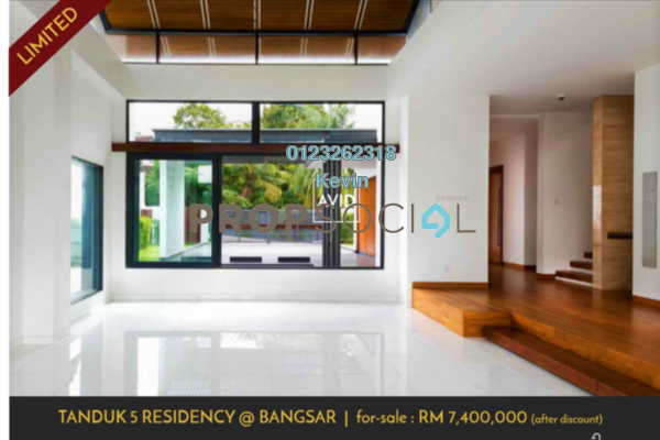 For Sale Bungalow at Tanduk 5 Residency, Bangsar Freehold Unfurnished 6R/5B 8.4m