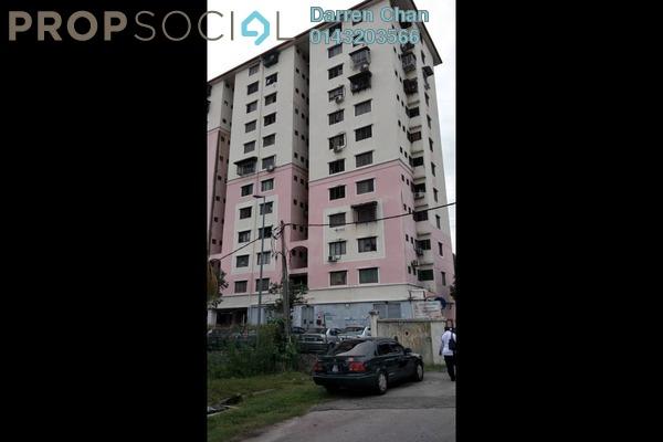 For Sale Apartment at Anggerik Apartment, Seri Kembangan Freehold Unfurnished 3R/1B 110k