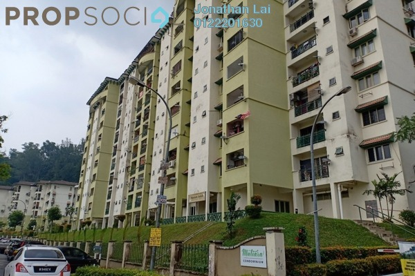 For Sale Condominium at Mutiara Condominium, Ampang Freehold Fully Furnished 3R/2B 345k