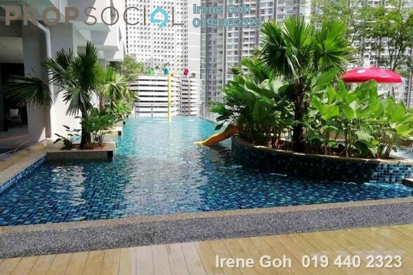 For Sale Condominium at Mont Residence, Tanjung Tokong Freehold Unfurnished 3R/2B 1.09m