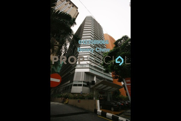 For Rent Office at Menara MIDF, Bukit Ceylon Freehold Semi Furnished 0R/0B 18k