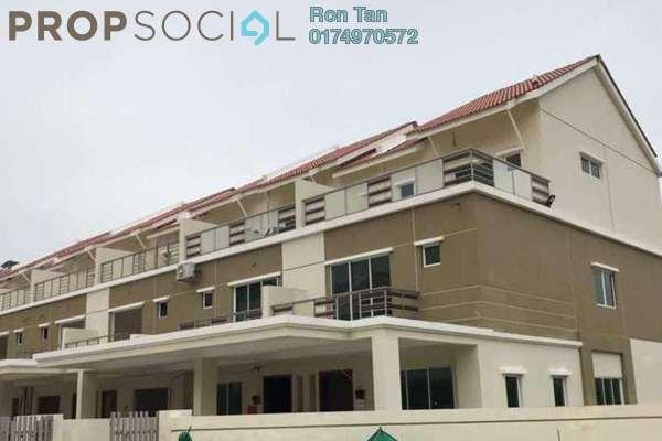 For Sale Terrace at Rena Park, Balik Pulau Freehold Unfurnished 5R/4B 799k