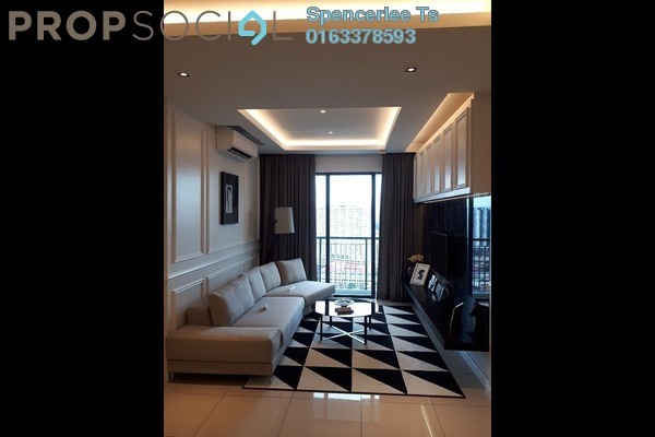 For Sale Condominium at KL Traders Square, Kuala Lumpur Freehold Semi Furnished 4R/2B 400k