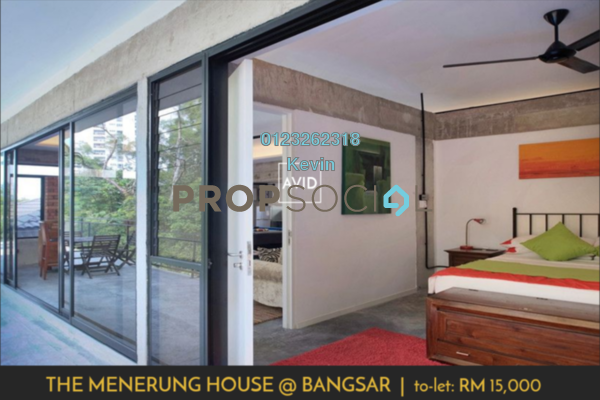 For Rent Terrace at One Menerung, Bangsar Freehold Semi Furnished 7R/7B 18k