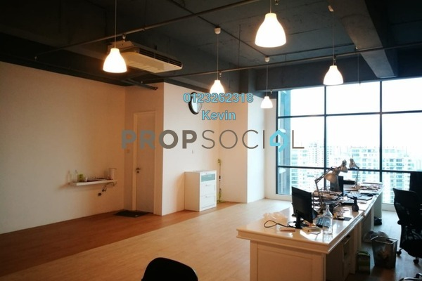 For Rent Office at Vertical Suites, Bangsar South Freehold Semi Furnished 0R/1B 4k