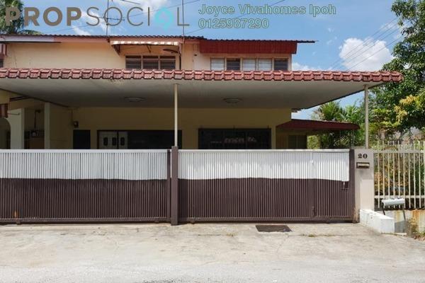 For Sale Terrace at Taman Pakatan Jaya, Ipoh Freehold Unfurnished 4R/2B 195k