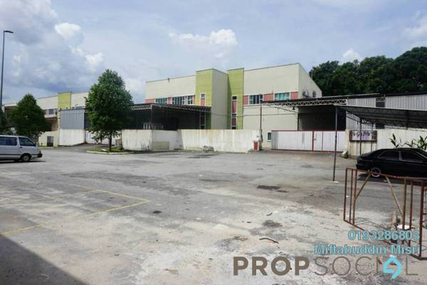 For Sale Factory at Bandar Teknologi Kajang, Semenyih Freehold Semi Furnished 0R/0B 2.8m