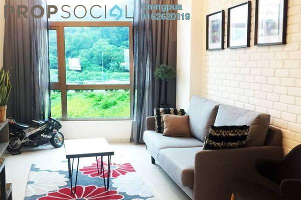 For Rent Condominium at Prima Harmoni 1, Segambut Freehold Fully Furnished 1R/1B 2.8k