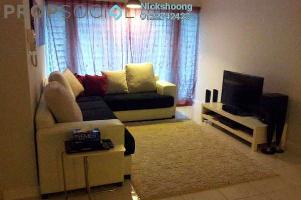 For Sale Condominium at Metropolitan Square, Damansara Perdana Leasehold Semi Furnished 3R/2B 430k