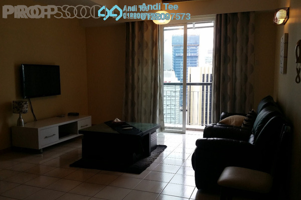 For Rent Condominium at Seri Bukit Ceylon, Bukit Ceylon Freehold Fully Furnished 2R/2B 4k