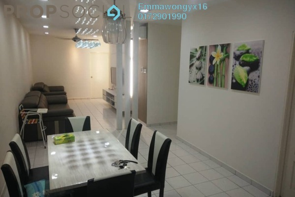 For Rent Townhouse at Amansiara, Selayang Freehold Fully Furnished 3R/2B 1.6k