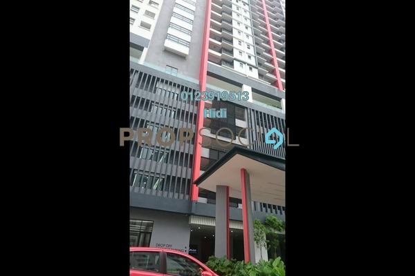 For Sale Serviced Residence at D'Aman Residences, Puchong Freehold Semi Furnished 3R/2B 450k