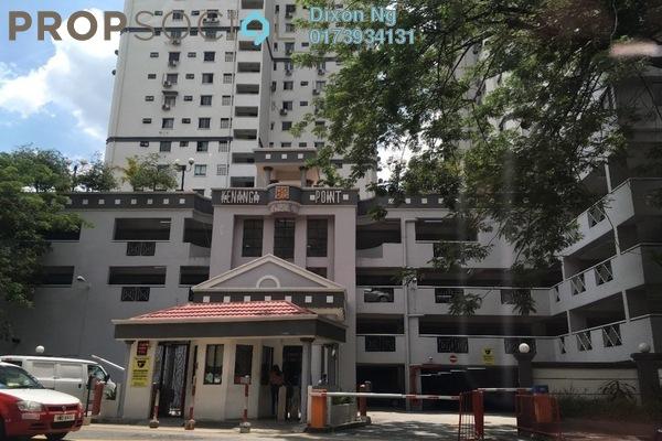 For Rent Condominium at Kenanga Point, Pudu Freehold Semi Furnished 3R/2B 1.95k
