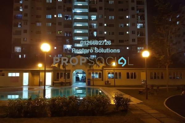 For Rent Apartment at Casa Riana, Bandar Putra Permai Freehold Semi Furnished 3R/2B 1.2k