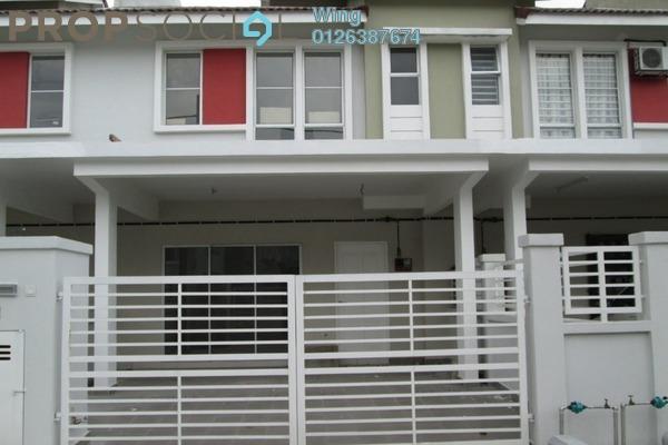 For Rent Terrace at Taman Dato Demang, Bandar Putra Permai Freehold Semi Furnished 4R/3B 1.4k