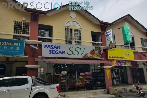 For Sale Shop at Taman Putra Budiman, Balakong Leasehold Fully Furnished 3R/4B 1.45m