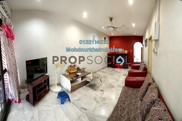 For Sale Terrace at Taman Cempaka Sari 2, Klang Freehold Semi Furnished 3R/2B 260k