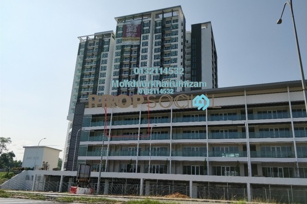 For Sale Shop at Temasya 8, Temasya Glenmarie Freehold Unfurnished 0R/1B 618k