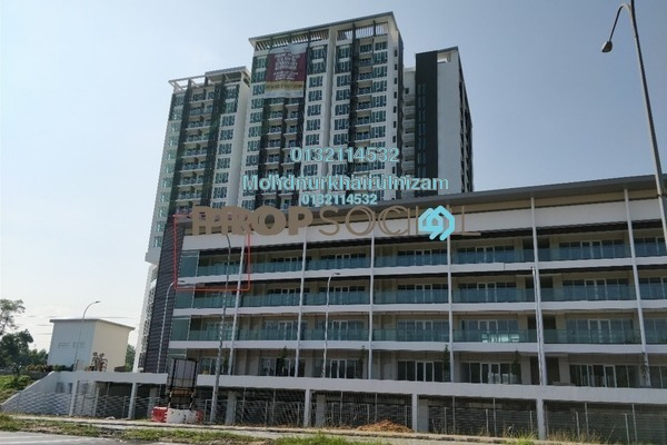 For Sale Shop at Temasya 8, Temasya Glenmarie Freehold Unfurnished 0R/1B 692k