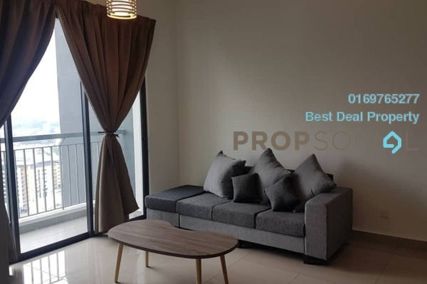 For Rent Condominium at Parkhill Residence, Bukit Jalil Freehold Semi Furnished 3R/2B 1.9k