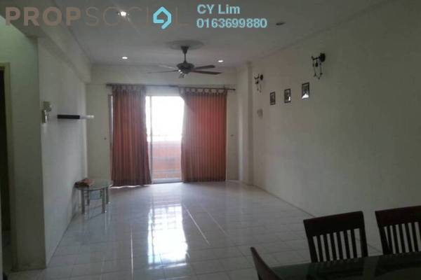 For Rent Apartment at Jalil Damai, Bukit Jalil Freehold Unfurnished 3R/2B 1.25k